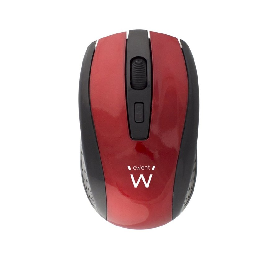 Wireless mouse red 1000/1200/1600dpi