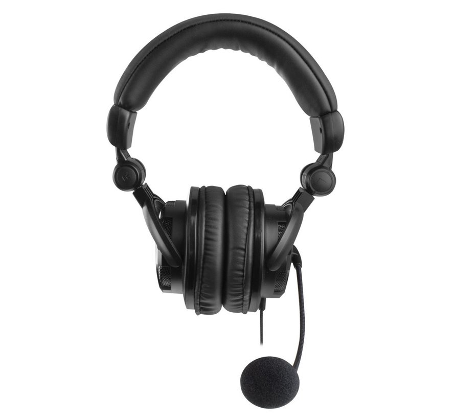 Headset Over-ear with mic and volume control