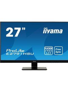 Iiyama MON  ProLite E2791HSU-B1 27inch Wide Q-HD LED Zwart / RETURNED
