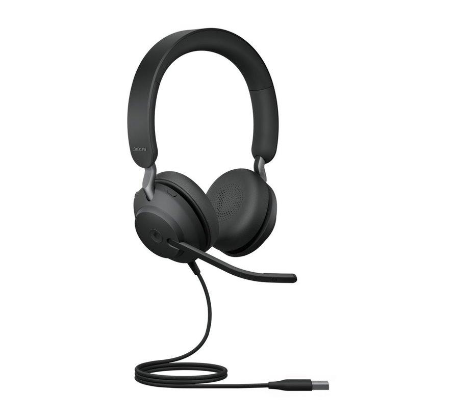 Jabra Headset Evolve 40 Setero MS USB