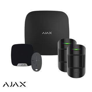 AJAX Systems AJAX StarterKit M, Hub, 2 X MotionProtect, HomeSiren, SpaceControl