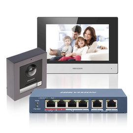 HIKVISION Complete IP video intercom kit