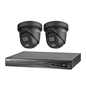 HIKVISION Hikvision 2 X ColorVu 2.0 camera 2 MP IP camerabewaking kit