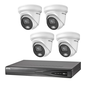 HIKVISION Hikvision 4 X ColorVu 2.0 camera 2 MP IP camerabewaking kit