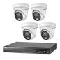 HIKVISION Hikvision 4 X ColorVu 2.0 camera 4 MP IP camerabewaking kit