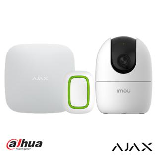 AJAX Systems Zorgkit - AJAX Hub + AJAX Button + Dahua Ranger 2