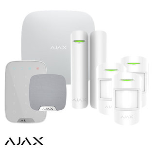 AJAX Systems AJAX StarterKit L, Hub,  3 X MotionProtect, HomeSiren, Keypad
