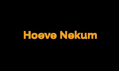 Hoeve Nekum