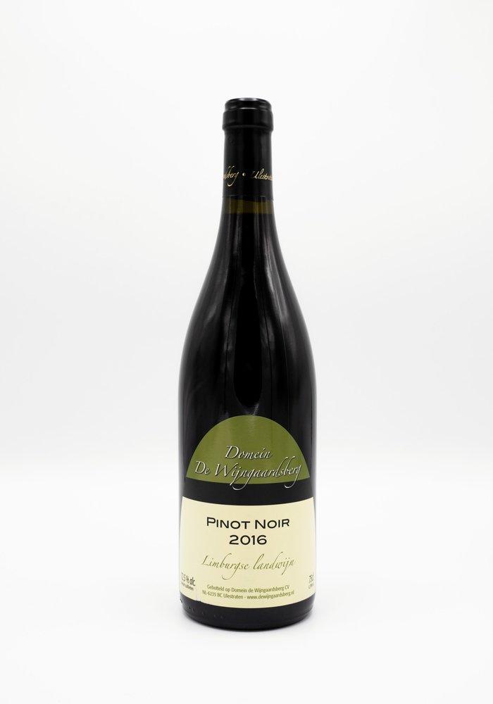 Pinot Noir van Domein de Wijngaardsberg