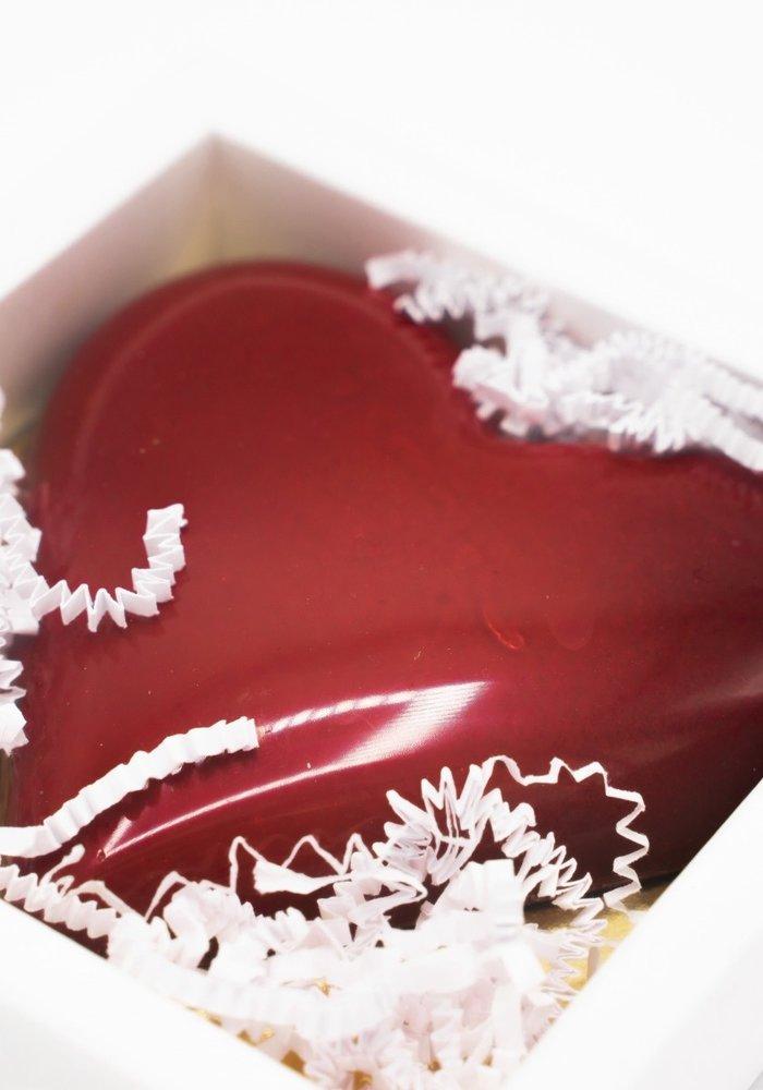 Chocoladehart van La-Fève