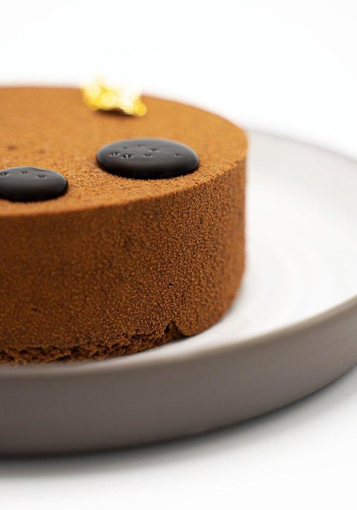 Chocoladetaart met framboos