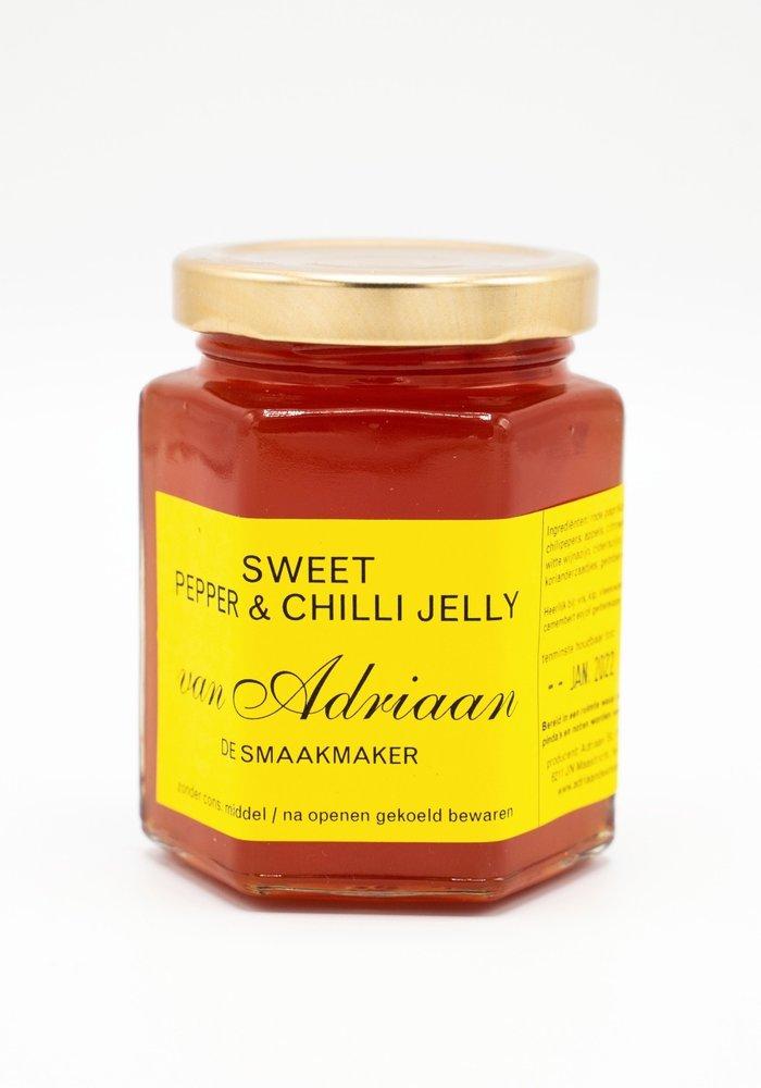 Sweet pepper & chilli jelly
