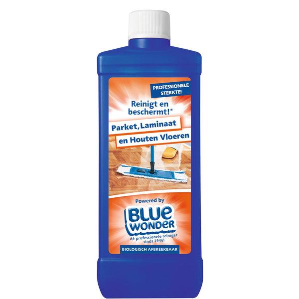 Blue Wonder Blue Wonder Parket, Laminaat en Houten Vloeren reiniger met Dop 750 ml fles