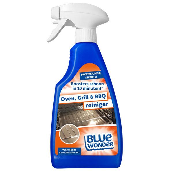 Blue Wonder Blue Wonder Oven-, Grill- en Barbecue-reiniger - 500 ml spray fles