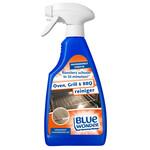 Blue Wonder Blue Wonder Oven-, Grill- en Barbecue-reiniger Voordeelverpakking - 6x 500 ml spray fles omdoos (3 L)