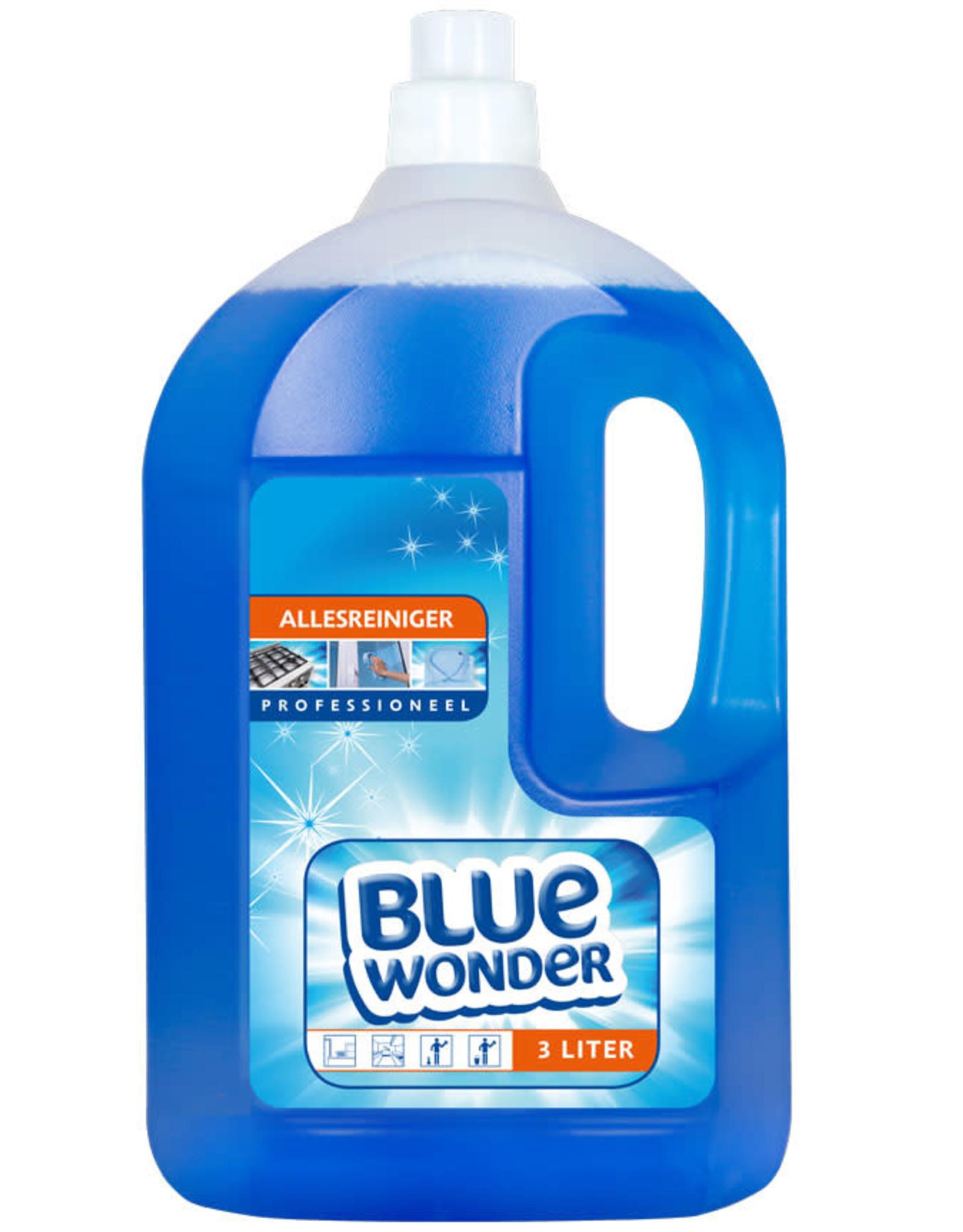 Blue Wonder Blue Wonder Professioneel Alles-reiniger Dop 4x 3000 ml omdoos