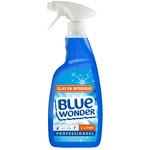 Blue Wonder Blue Wonder Professioneel Glas en Interieur-reiniger Spray 1000 ml fles