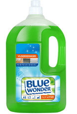Blue Wonder Blue Wonder Professioneel Vloer-reiniger Dop 1500 ml fles