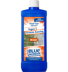 Blue Wonder Blue Wonder Tegen Groene Aanslag-reiniger Voordeelverpakking - 6x 750 ml fles met dop (4,5 L)