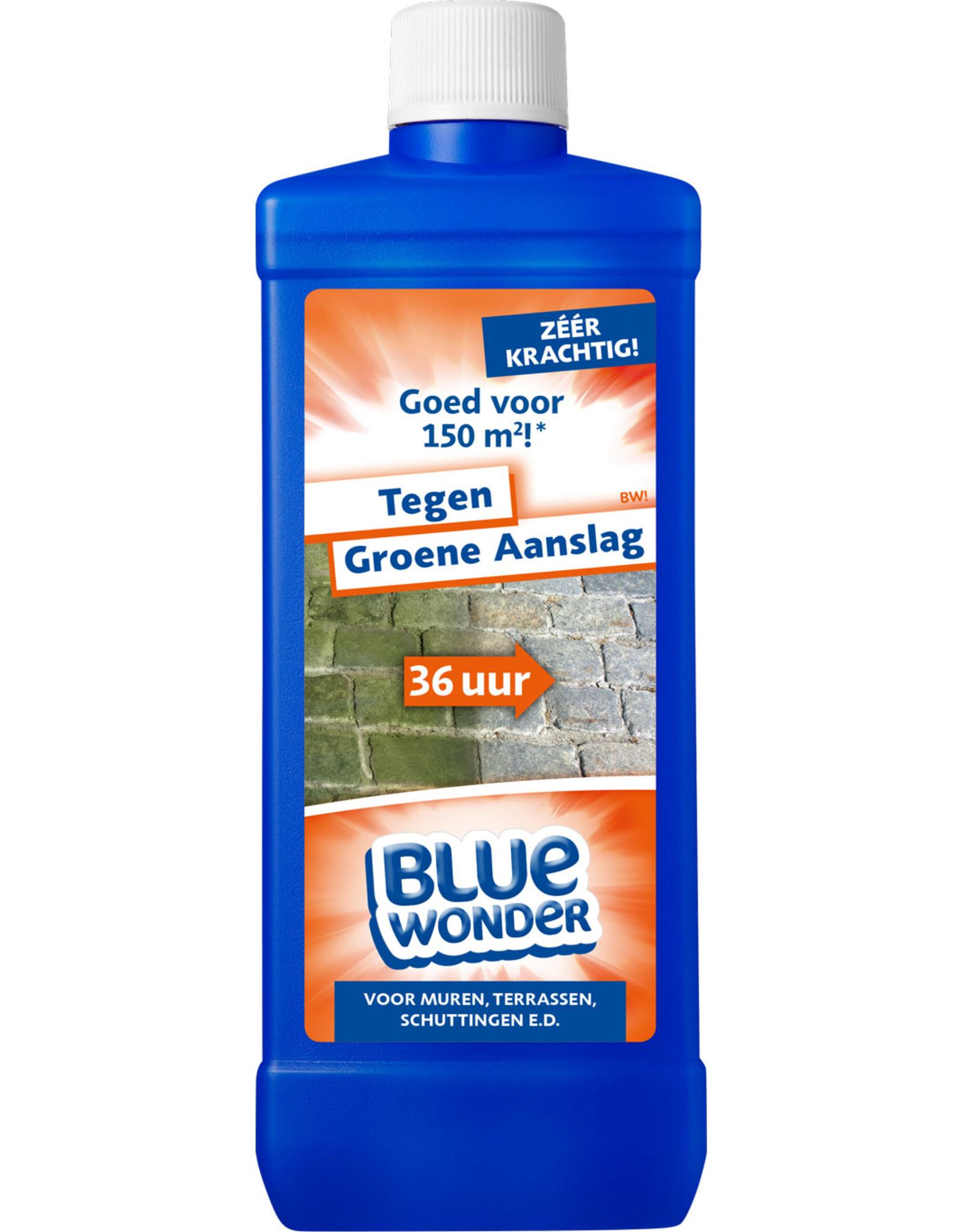 Blue Wonder Blue Wonder Tegen Groene Aanslag-reiniger - 750 ml fles met dop