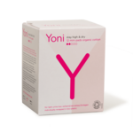 YONI Yoni Biologisch katoenen inlegkruisjes voor urineverlies: mini 12 stuks