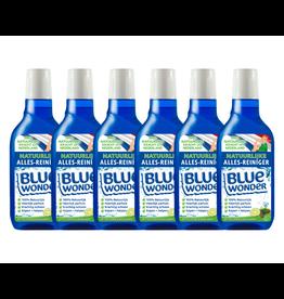 Blue Wonder Blue Wonder 100% natuurlijke Alles-reiniger Witte Ceder Voordeelverpakking - 6x 750 ml fles met dop (4,5 L)