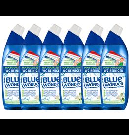 Blue Wonder Blue Wonder 100% natuurlijke WC-reiniger Voordeelverpakking - 6x 750 ml fles (4,5 l)