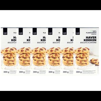 VOILA Home Bakery Voila Haver Pecan Koekjes Voordeelverpakking - 6x 300 gram