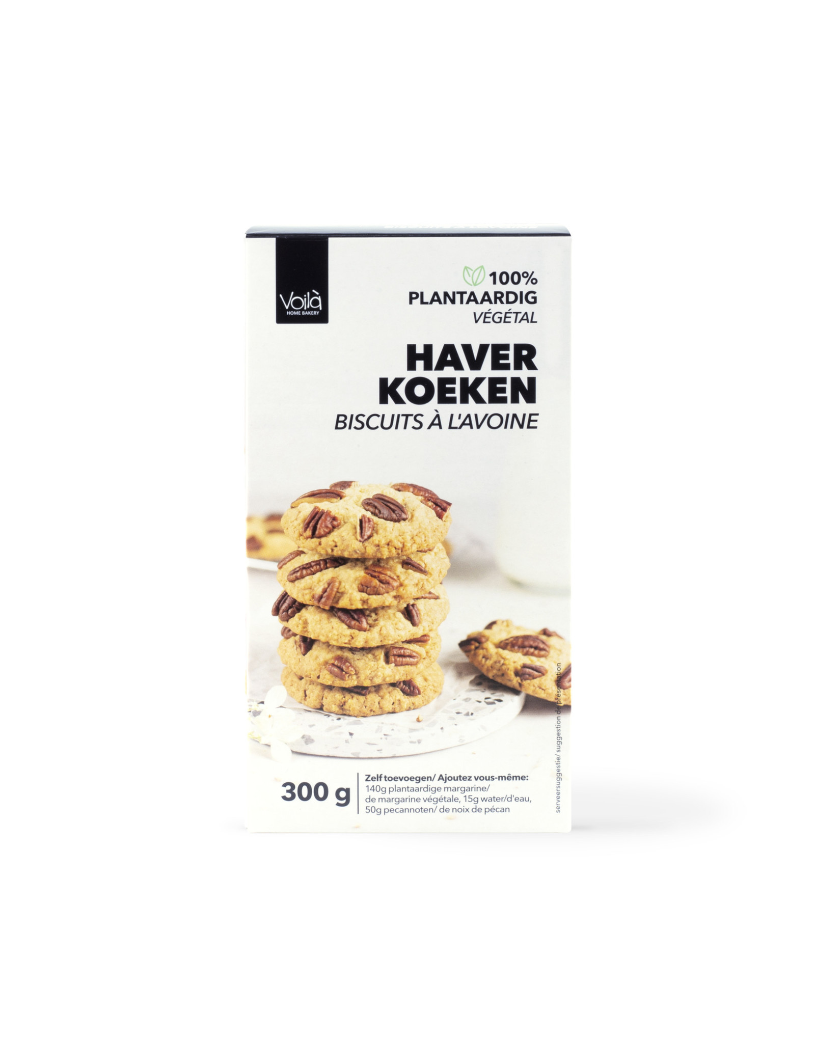 VOILA Home Bakery Voila Biscuits a l'avoine 6 fois 300 grammes carton principal