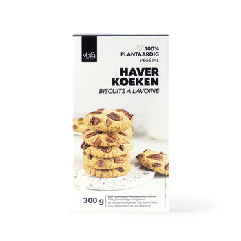 VOILA Home Bakery Voila Biscuit a l' avoine - Paquet de 300 grammes