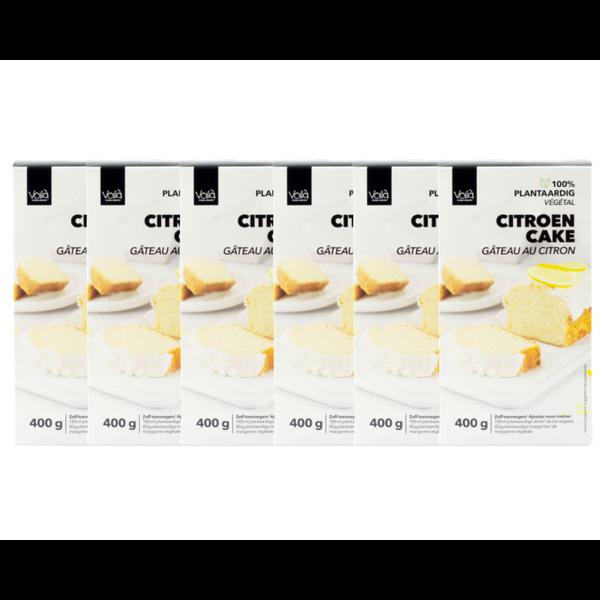 VOILA Home Bakery Voila Citroen Cake Voordeelverpakking - 6x 400 gram omdoos