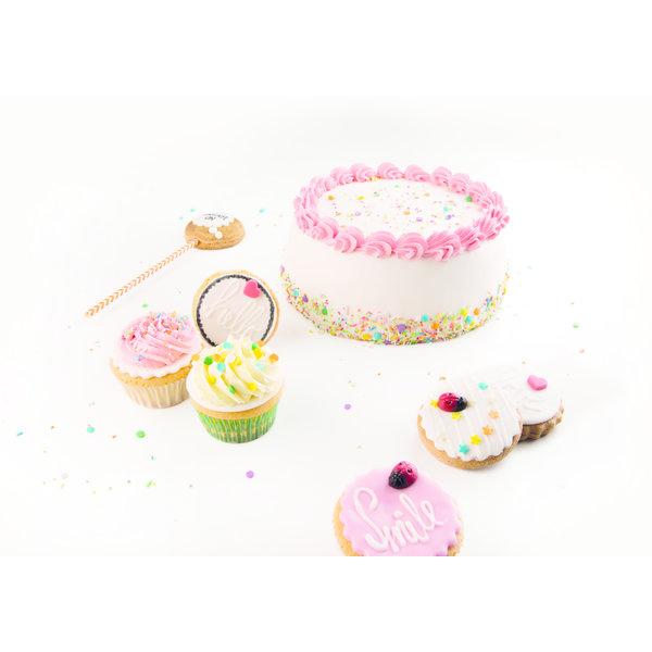 VOILA Home Bakery Voila Rolfondant roze - 10x 150 gram - grootverpakking (1,5 kgs)