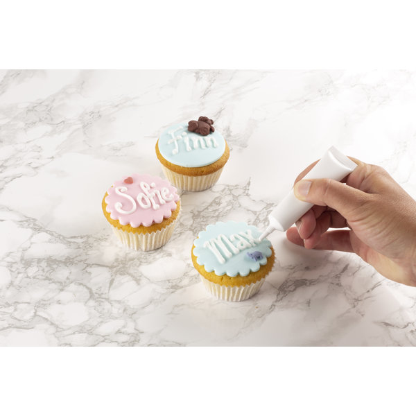 VOILA Home Bakery Voila Home Bakery Pâté a sucre blanc - 10x  150 grammes paquet - carton principal (1,5 kilo)