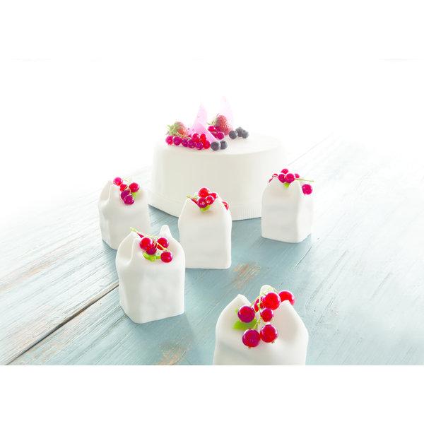 VOILA Home Bakery Voila Uitgerolde rolfondant-wrap wit Voordeelverpakking - 6x 430 gram omdoos (2,58 KG)