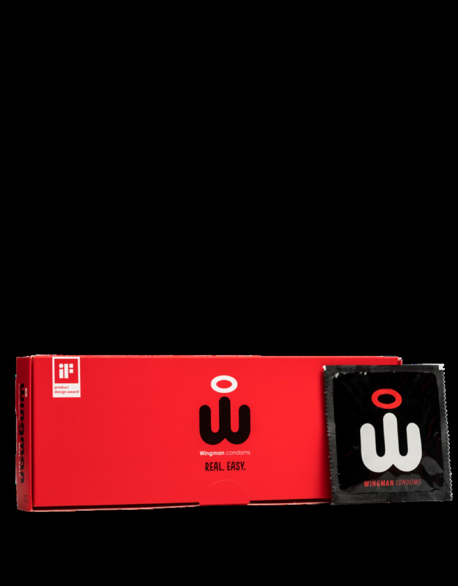 Wingman Wingman Condoms Real Easy - 48x 12 pack 56 mm