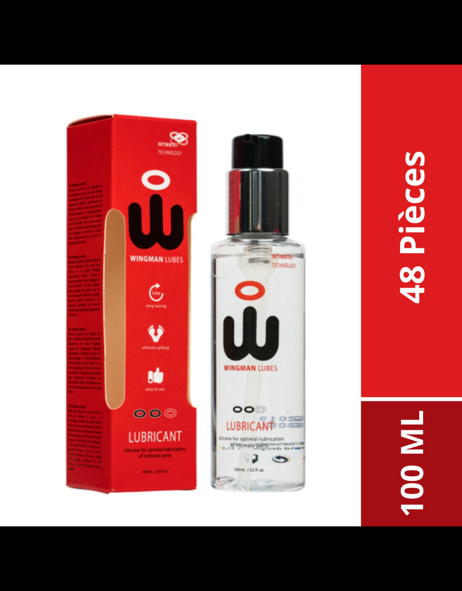 Wingman Wingman Condoms Sillicone Lubricant - 48x 100 ML