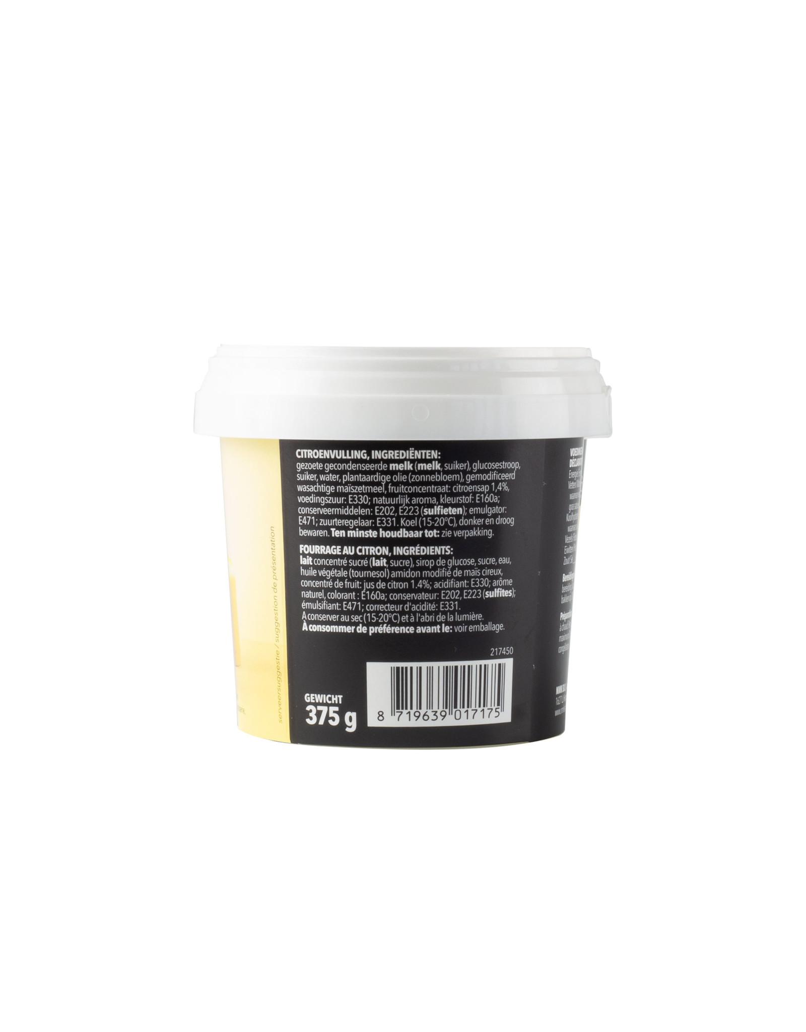 VOILA Home Bakery Voila fruit filling lemon - 375 gram cup