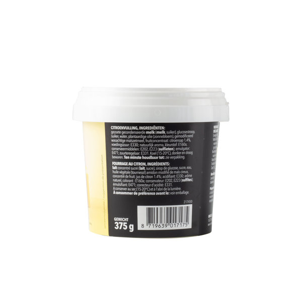 VOILA Home Bakery Voila Fruitvulling Citroen - 375 gram bakje