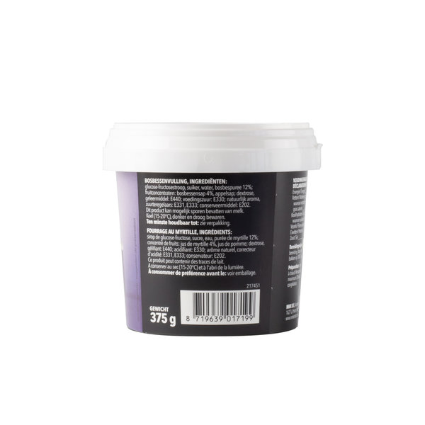 VOILA Home Bakery Voila fruit filling blueberries value pack - 6x 375 gram cup