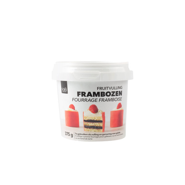 VOILA Home Bakery Voila Fourrage Framboise Ensemble d'avantages - 6x 375 gramme tasse