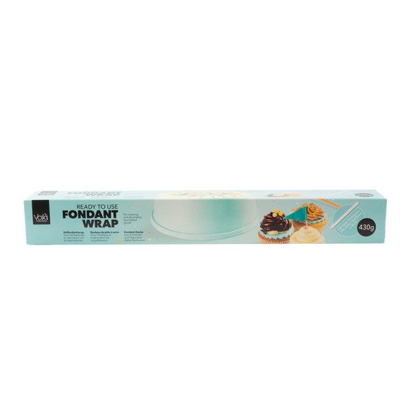 VOILA Home Bakery Voila Uitgerolde rolfondant-wrap baby blauw Voordeelverpakking - 6x 430 gram omdoos (2,58 KG)