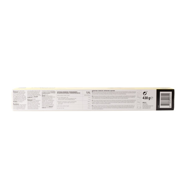 VOILA Home Bakery Voila rolled fondant wrap yellow Value Pack - 6x 430 grams case (2,58 KG)