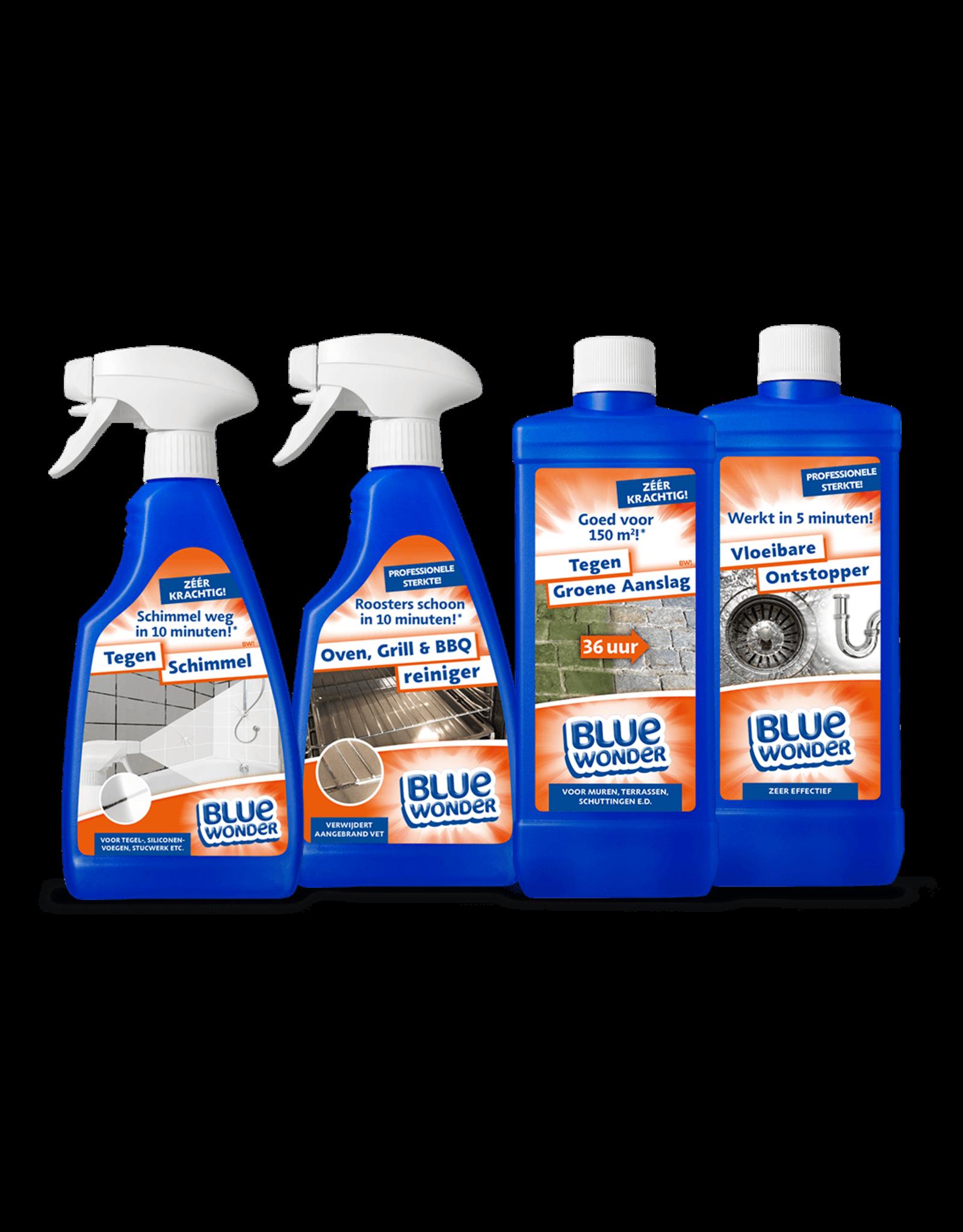 Blue Wonder Blue Wonder Tegen Schimmel Speciaalreiniger - 500 ml spray fles