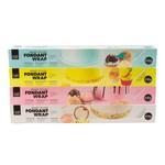 VOILA Home Bakery Voila Uitgerolde rolfondant-wrap geel Voordeelverpakking - 6x 430 gram omdoos (2,58 KG)