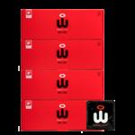 Wingman Wingman Condoms Real Easy 48 pack 56 mm