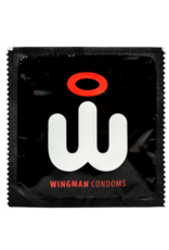 Wingman Wingman Condoms Real Easy 48 pack 56 mm + 100ML Lube Combi