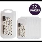 VOILA Home Bakery  Voila | Suikeroogjes | Decoratie - 22x 20 stuks 18 gram pakje omdoos (400 gram)