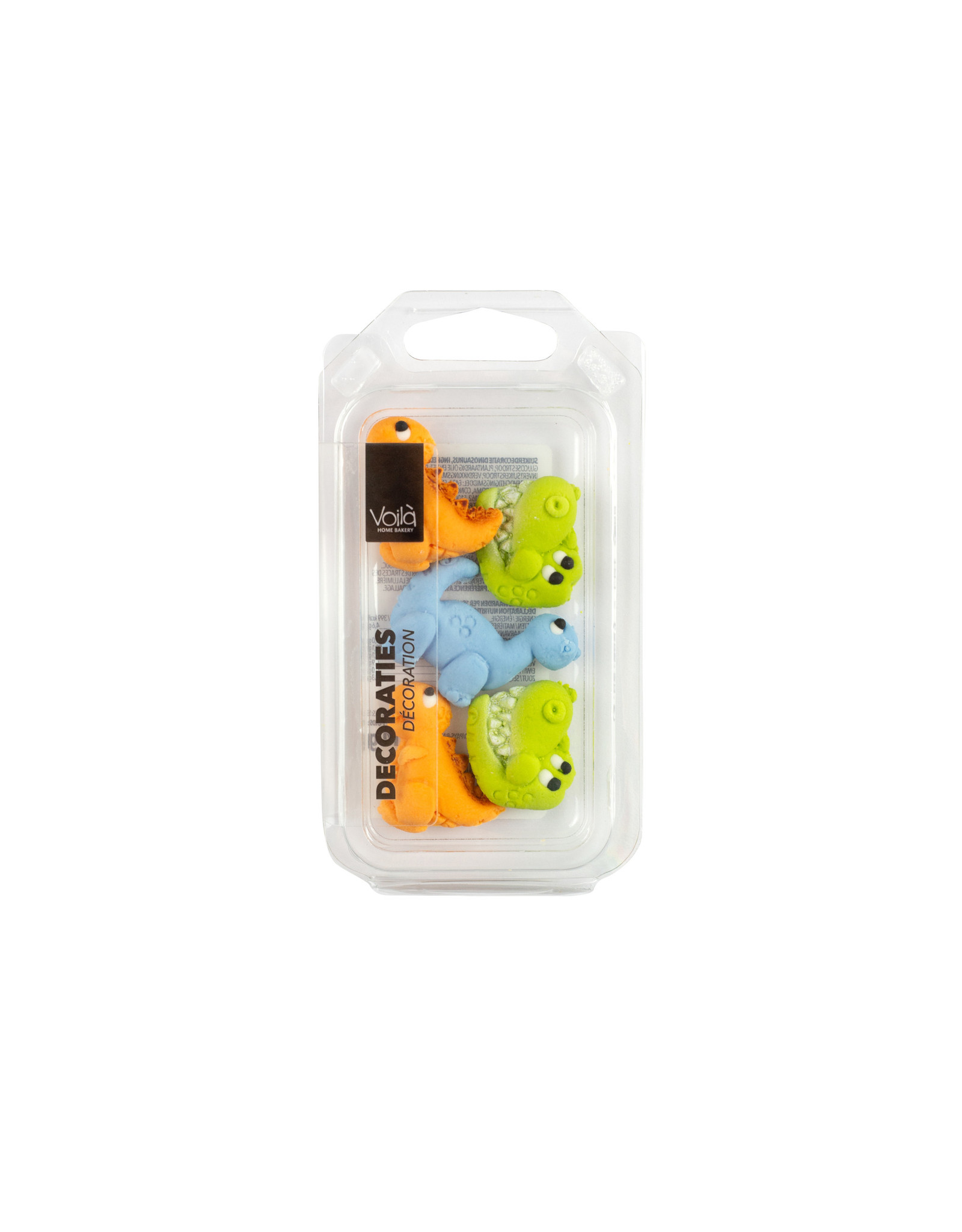 VOILA Home Bakery Voila | Suiker Dinosaurusen | Decoratie - 16 gram