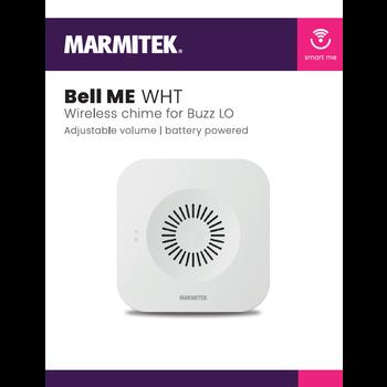 Marmitek Wireless chime for Buzz LO - white - 4x omdoos