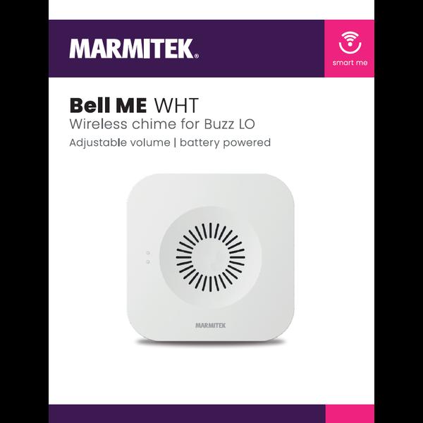 Marmitek Wireless chime for Buzz LO - white - omdoos (4 stuks)